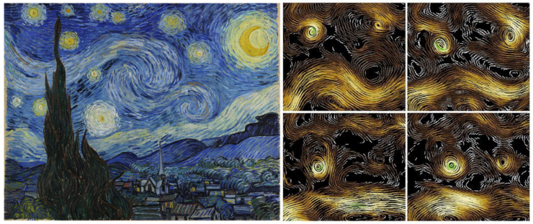 The Stormy Night and The Starry Night