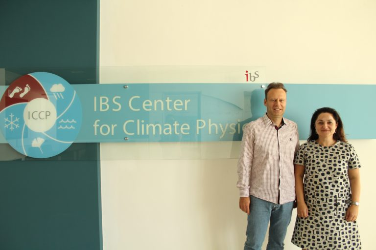 Prof. Jürg Luterbacher and Dr. Elena Xoplaki visited to ICCP