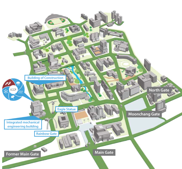 PNU Campus Map
